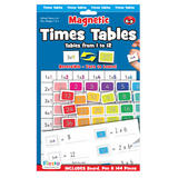 Childrens Times Table Magnetic Board by Fiesta Crafts Maths Multiplication Fun