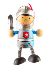 Royal Knight Fridge Magnet Toy by Fiesta Crafts - 3cm x 6cm - Age 3+