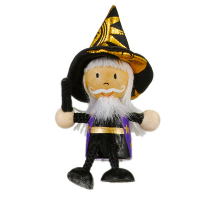 Wizard Fridge Magnet Toy by Fiesta Crafts - 3cm x 6cm - Age 3+