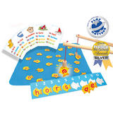 Fish N Spell - Childrens Magnetic Spelling Educational  Game by Fiesta Crafts