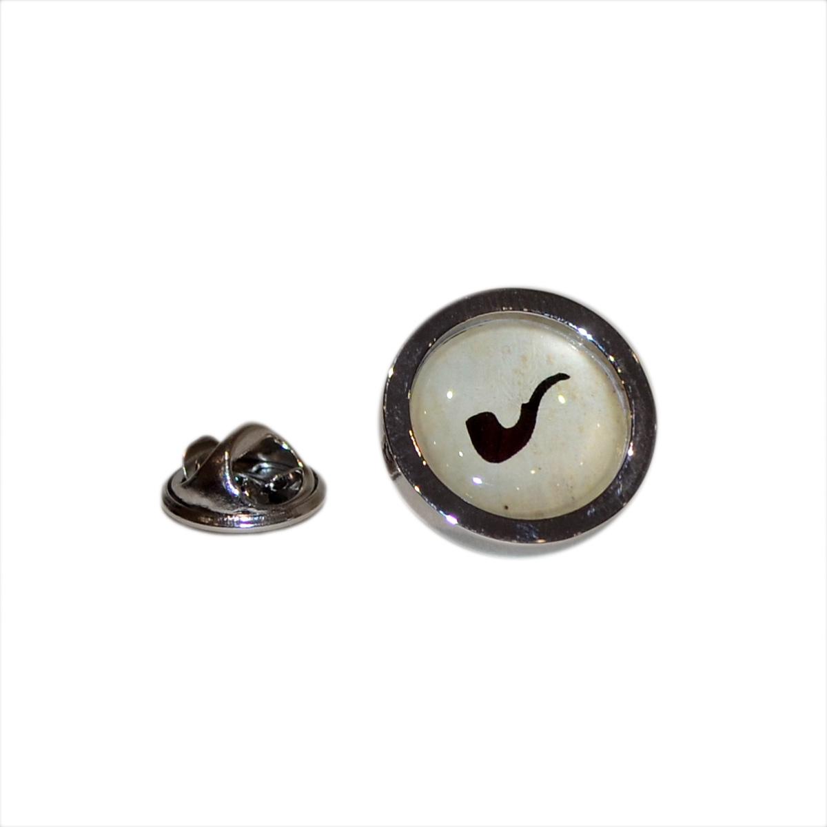 Detalles de Smoking Pipe Design Lapel Pin Badge Gifts For Him