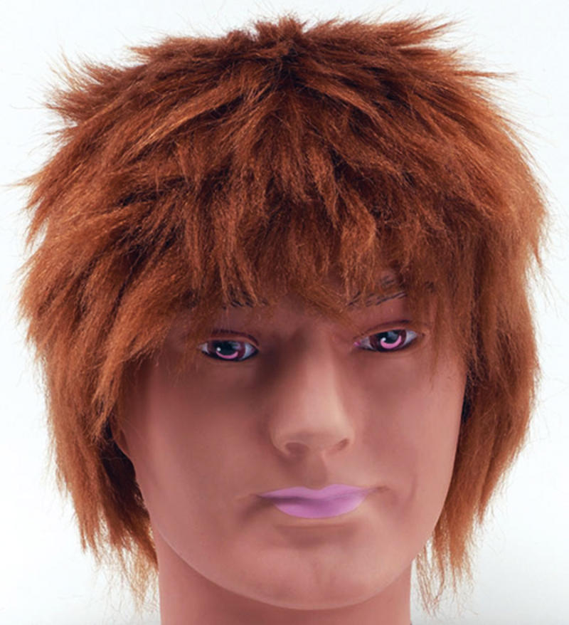 Messy mop head style ginger wig teenage boy emo rocker fancy dress messy mop head style ginger wig teenage boy emo rocker fancy dress publicscrutiny Image collections