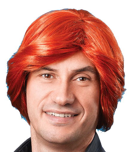 Sentinel Mens Ginger Wig 70 S Retro Disco Diva Stag Do Party Fancy Dress ffd2b0396917