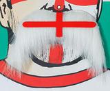 St Georges Cross Moustache 1970S England Football Fan Fancy Dress