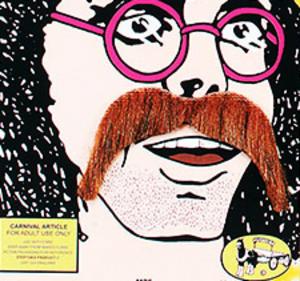 Thick Brown Moustache 1970S Hippy Western Cowboy Ymca Fancy Dress