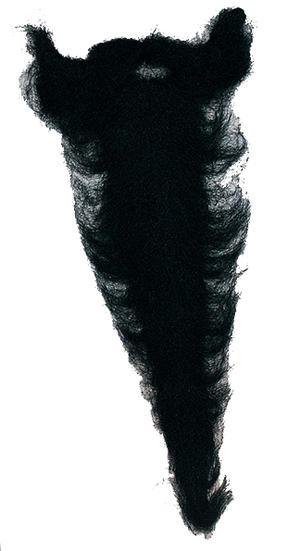 Black Beard Wizard Fancy Dress Magician