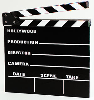 Clapper Board Hollywood Film Director Accessory
