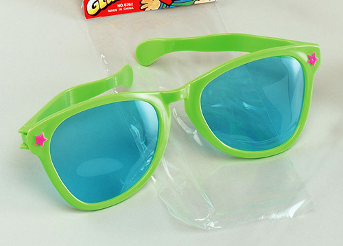 Jumbo Sun Glasses Rave Festival Fancy Dress