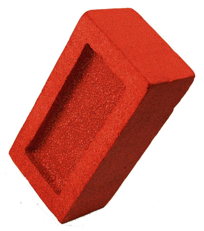 Foam Fake Brick Novelty Practical Joke