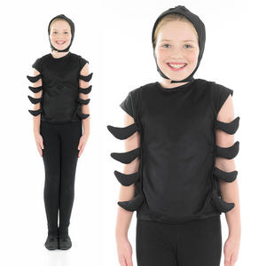 Childrens Spider Fancy Dress Costume Halloween Insect Outfit 4-12 Yrs