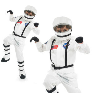 Childrens Astronaut Fancy Dress Costume Spaceman Cadet Kids Outfit 4-12 Yrs