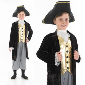 Childrens Young Gentleman Fancy Dress Costume Renaissance Man Outfit 4-12 Yrs