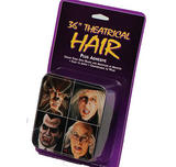 "Black 36"" Multi Use Theatrical Hair Halloween"