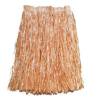 Adult Grass Skirt Beach Hula Hawaian Fancy Dress