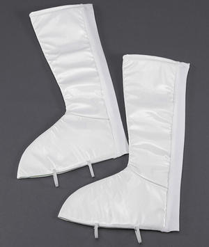 Go Go White Boot Tops Retro 70S Austin Powers Disco Diva Fancy Dress