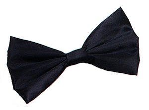 Black Bow Tie James Bond 007 Oscars Celebrity Dickie Bow Bowtie Fancy Dress