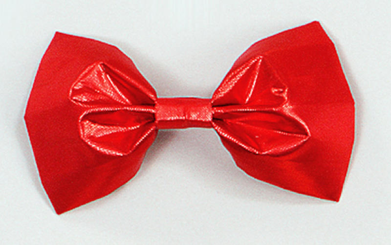 Red Bow Tie Clown Circus Fancy Dress