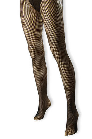 Black Fishnet Fish Net Tights Goth Emo Witch Zombie Halloween Fancy Dress