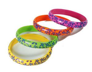 Flower Bracelets 70S Hippy Festival Fancy Dress