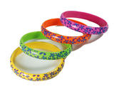 Flower Bracelets 70S Hippy Festival Fancy Dress