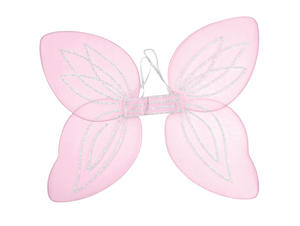Pink Adult Angel Wings Rave Fairy Fancy Dress