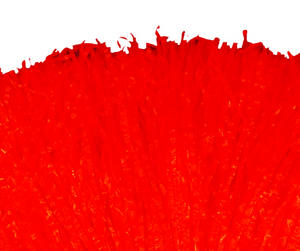 1 X Large Pom Pom Poms Red - Cheerleader Fancy Dress