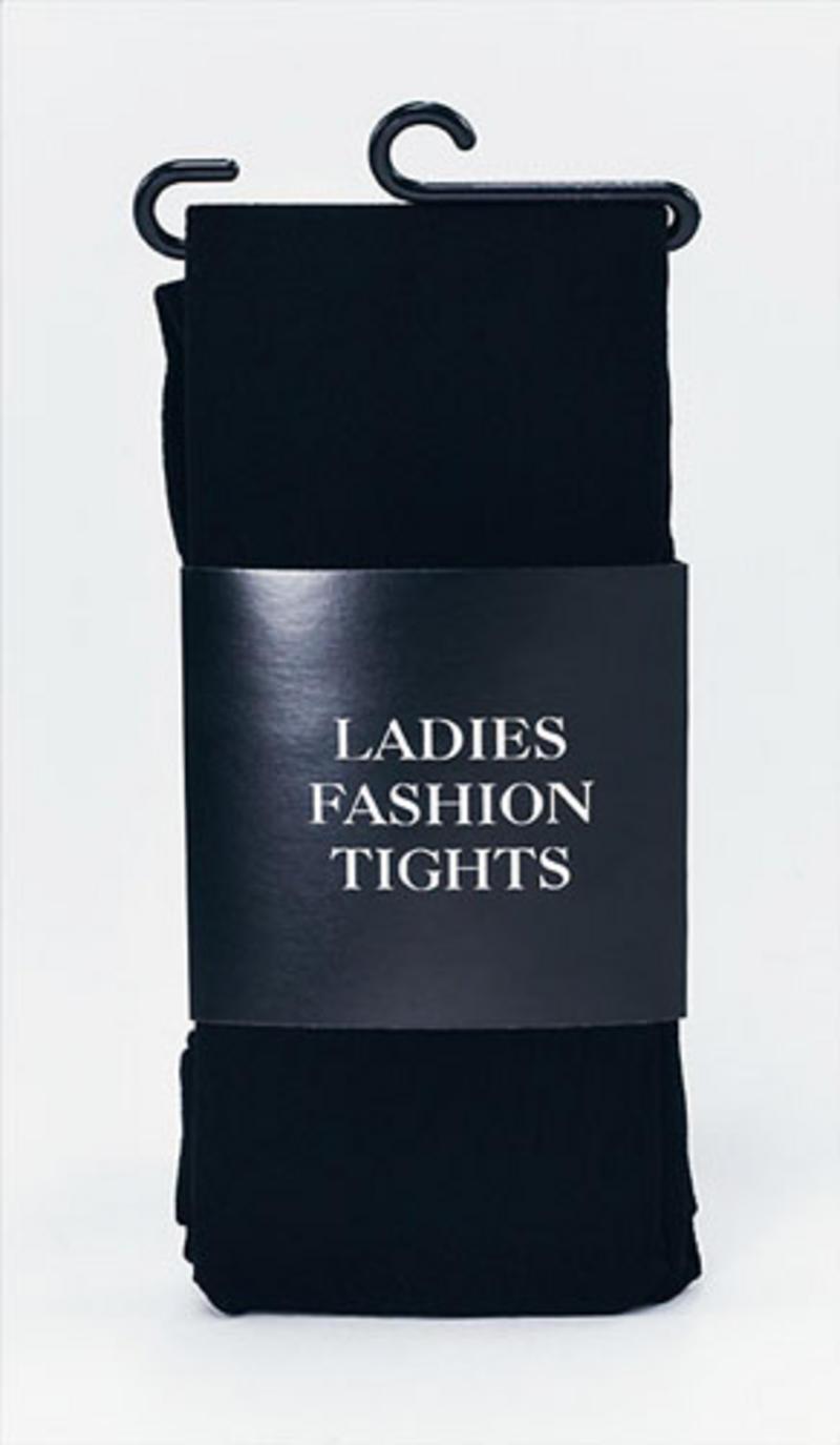 Ladies Black Tights Halloween Witch Theatre Fancy Dress