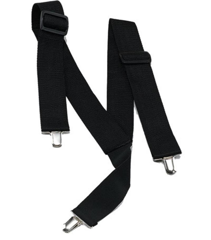Black Adjustable Braces Gangster Al Capone Bugsy Malone Pimp Fancy Dress