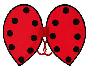 Ladybird Wings Insect Bug Fancy Dress Halloween