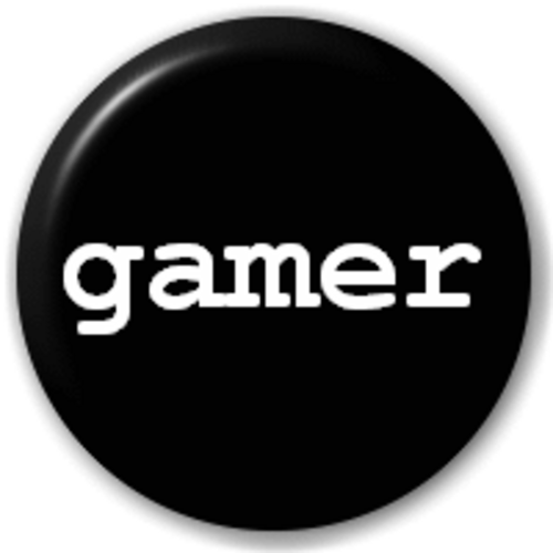 Small 25mm Lapel Pin Button Badge Novelty Gamer Console Player