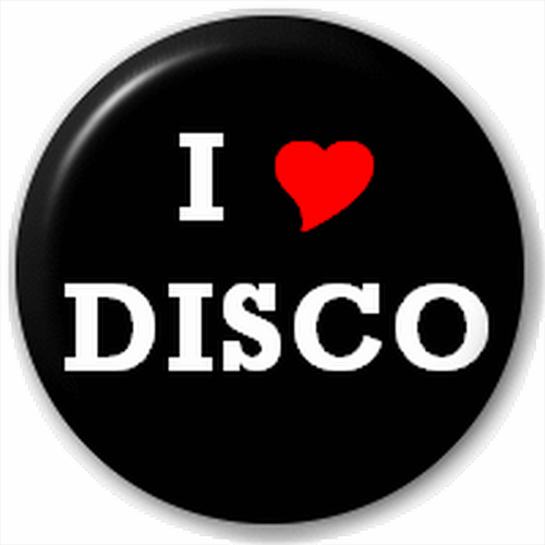 Small 25mm Lapel Pin Button Badge Novelty I Love Disco