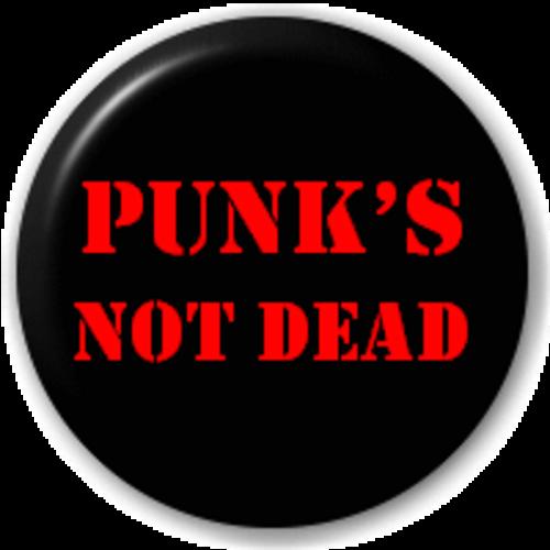 Small 25mm Lapel Pin Button Badge Novelty Punks Not Dead
