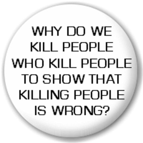 Small 25mm Lapel Pin Button Badge Novelty Why Do We Kill