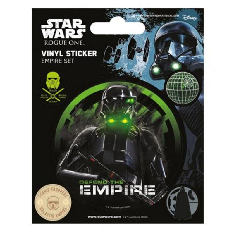Star Wars Rogue One Stickers Empire Stocking Filler Party Pags