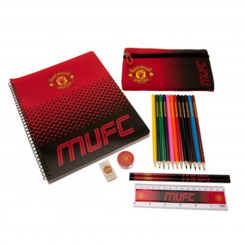 503ddce8fd3 Manchester United Fc Man Utd Stationery Pack Set FD