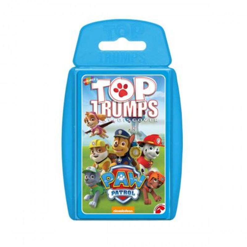 Paw Patrol Top Trumps Card Game
