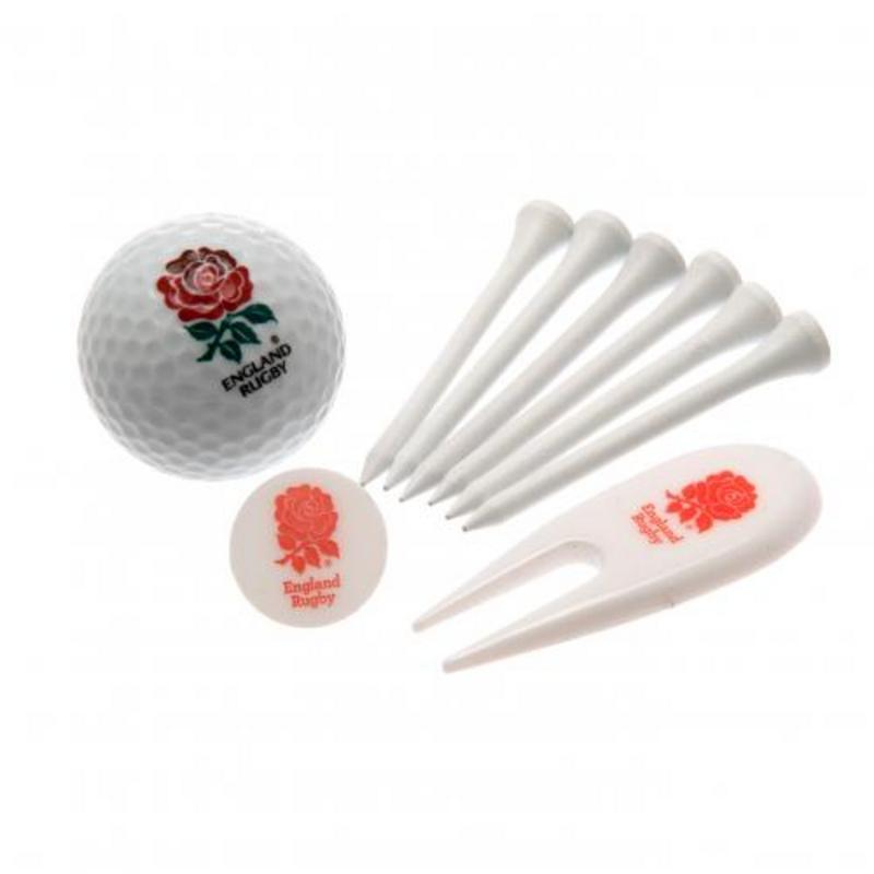 England Rugby Team English RFU Golf Gift Tube - Golfers Present Gift