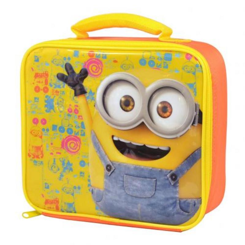 Despicable Me Minion School Picnics Lunch Bag Minions