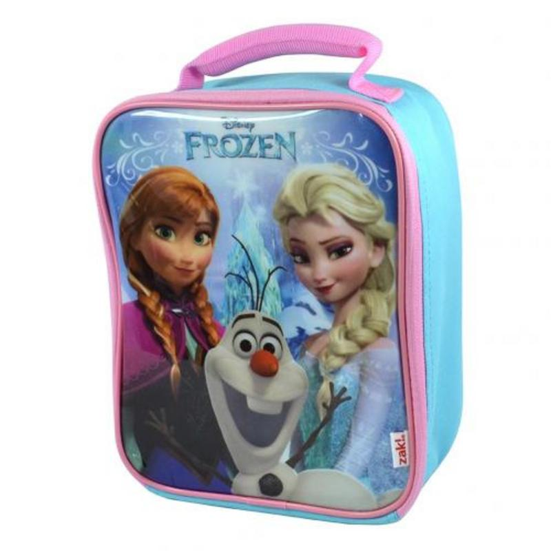 Disneys Frozen Anna Elsa School Picnics Lunch Bag