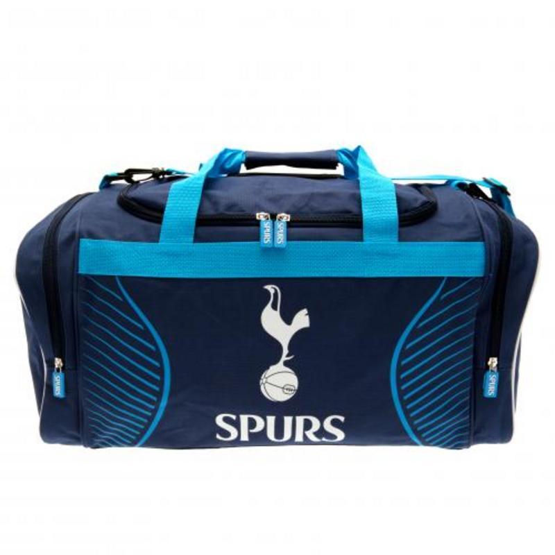 4024690f391a Tottenham Hotspur Fc Spurs Large Travel Holdall Gym School Bag SV ...