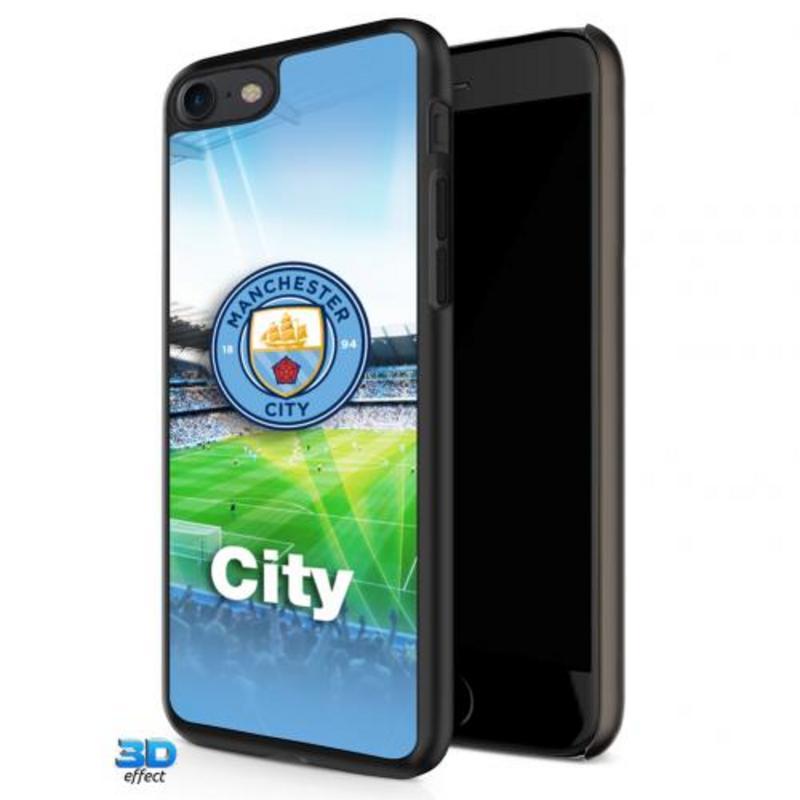 Manchester City Fc Man City iPhone 7 Hard Case 3D