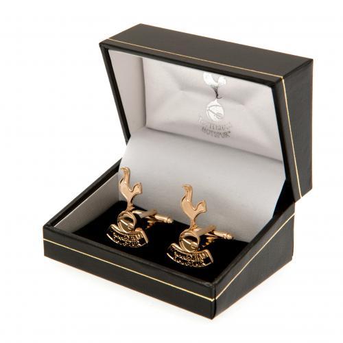 Tottenham Hotspur Fc Spurs Spurs Gold Plated Cufflinks Presentation Box 5060453281123 Ebay