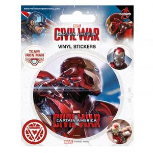 Captain America Civil War Sticker Pack Set