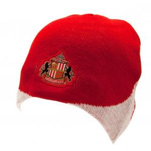 Sunderland Fc Red Knitted Hat Beanie WN