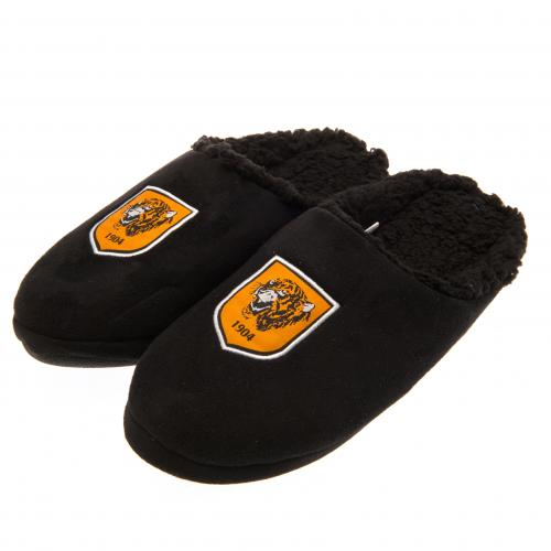 65ba6185f38 42  Hull City Fc Mens Mules Soft Fleece Slippers UK 7 8 or EU 41 42 ...
