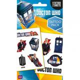 Doctor Who Tattoo Pack Pack Fake Temporary