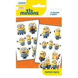Minions Tattoo Pack Pack Fake Temporary