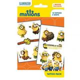 Minions Temporary Tattoo Pack YL Stocking Filler