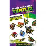 Teenage Mutant Ninja Turtles TMNT Tattoo Pack Pack Fake Temporary