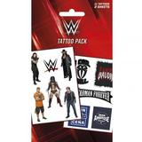 WWE Temporary Tattoo Pack Stocking Filler